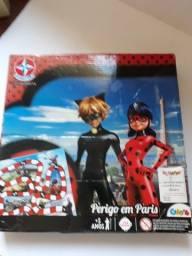 Jogo Perigo em Paris Ladybug - Estrela - semi novo em ótimo estado