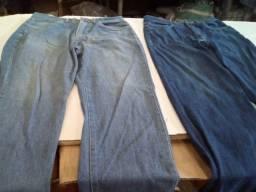 8000 Calças Jeans Usadas com Defeitos Modelo Tradicional Masculino