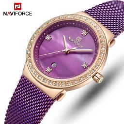 Relógio Feminino Naviforce (NF5005) Roxo