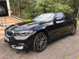 BMW 320i Sport preta 2020 c/ 800kms!