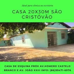 Casa venda 20x30m São Cristóvão próximo avenida Homero Castelo Branco e avenida João xxiii