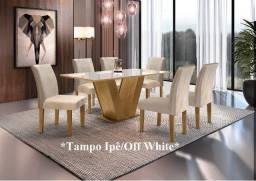 Mesa Classic 6 cadeiras 1.60 x 0.80 (MR)