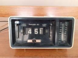 Título do anúncio: Rádio relógio PHILCO FORD raridade