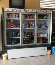 Freezer Expositor Auto Serviço 3 Portas!
