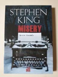 Título do anúncio: Livro Misery Stephen King - Novo