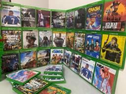 Título do anúncio: Vários jogos \ Xbox one e series