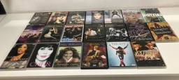 Lote 20 cds e 20 dvds