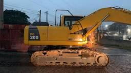 Escavadeira Pc 200 Komatsu 2016