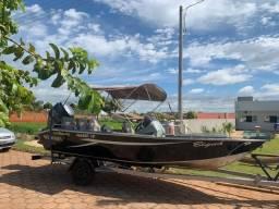 lancha leve náutica marok 19 motor 90 yamaha 2014