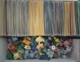 Título do anúncio: Coleção Pokémon miniaturas + Cartas gerações variadas