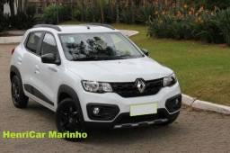 Título do anúncio: 2020 Kwid Outsider 1.0 Branco Completo Renault Em 60x Com Baixa Entrada*I7449