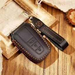 Título do anúncio: Capa para chave de couro Luxuosa