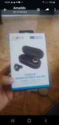 Título do anúncio: Inova fone de ouvido via Bluetooth