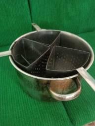 Título do anúncio: Banho Maria 6 cubas e espagueteira 3 divisórias