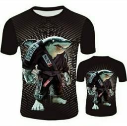 Camisas Venon e Tubarão