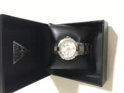 Relógio prata- Guess