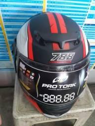 Promoção capacetes protork 788 g7