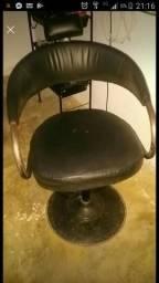 Cadeira cabelereiro leia descrição