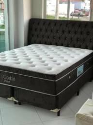 BRINDE uma cabeceira ou um baú de pé de cama na compra do seu colchão