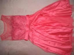 Vestido rosa maravilhoso