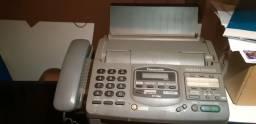 Aparelho fax, telefone e secretaria eletrônica Panasonic