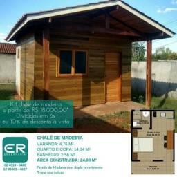 Casa pré fabricadas de madeira