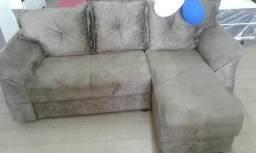 Mega Promoção Sofa Em L Novo Com Chaise