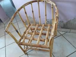 Jogo Sofá Bambu