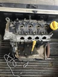 Motor extra Sandero 2016 4 cilindros com nota e garantia