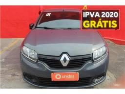 Renault Logan 1.0 12v sce flex authentique manual - 2018