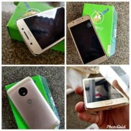 Motorola g5 dourado