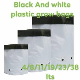 Grow bags Black/White