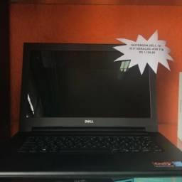 """Notebook Dell 14"""" i5 5ª Geração 4GB 1TB Seminovo"""