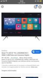 TV 32 smart, semi nova
