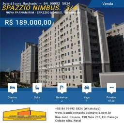 Apartamento 3/4 - 67m2 em Nova Parnamirim - Spazzio Nimbus