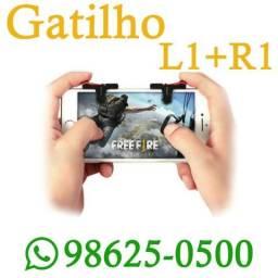 (Entregamos) Gatilho L1 + R1 para Celular Mira Jogo Mobile (Loja Física)