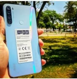 Xiaomi Note 8 64GB + mi Band 3 ou airdrots de brinde + Película