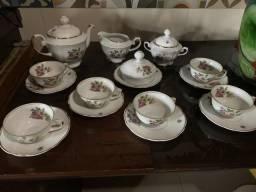 Porcelana para chá