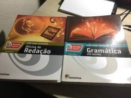 Livros didáticos Ed moderna