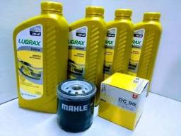 Oleo e filtro de oleo e combustível para gm