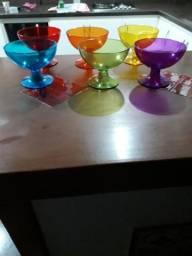 Conjunto 6 taças acrílico Tok Stok