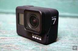 Câmera fotográfica GoPro Hero 7, nova, sem uso, na caixa lacrada, com Nota Fiscal