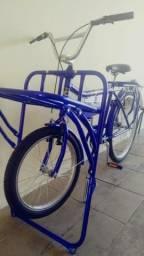 Vendo bicicleta cargueira nova