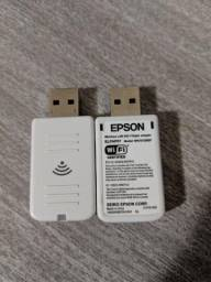 Adaptador wireless Wi-Fi para projetor Epson