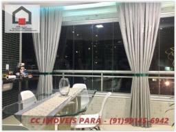 Apartamento no Ed. Piazza Colonna, 140 m², 3 Suítes e 2 Vagas, à venda, Batista Campos, Be