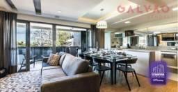 Apartamento à venda com 2 dormitórios em Centro, Curitiba cod:CO0235