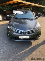 Toyota Corolla xei automático ano 2016 - blindado