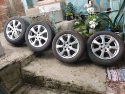 Jogo de Rodas Civic EXS/EXR Aro 16