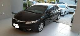 Honda civic Lxr automatico impecavel baixa km pneus zero todo revisado - 2014