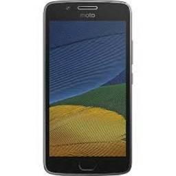 Celular Motorola Moto G5 32gb Platinum ótimo estado